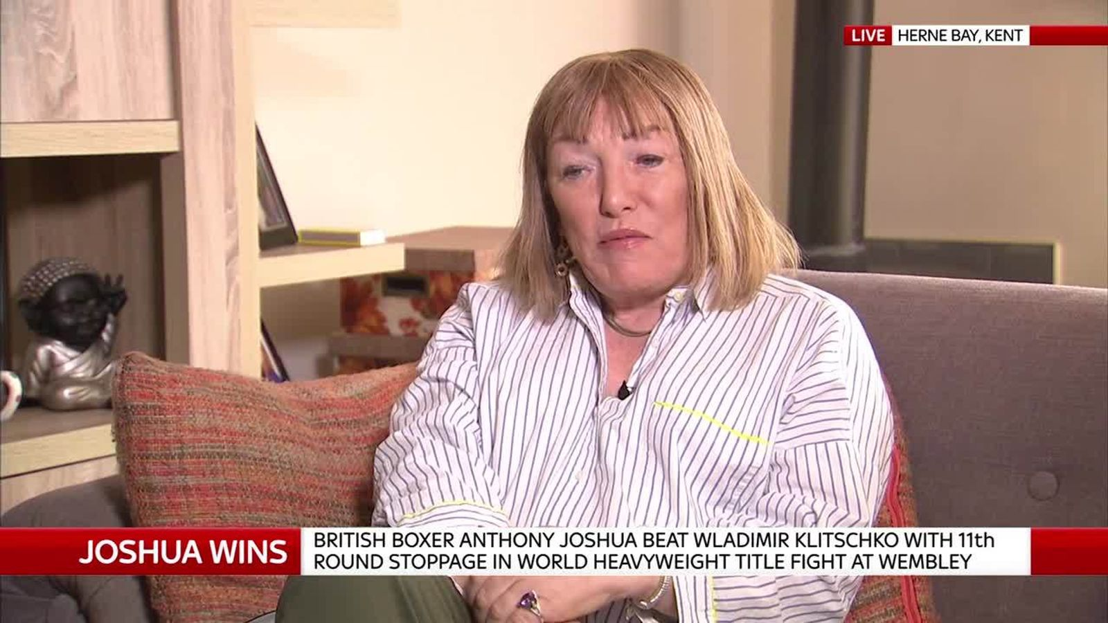 Former boxing promoter Kellie Maloney reflects on Anthony Joshua