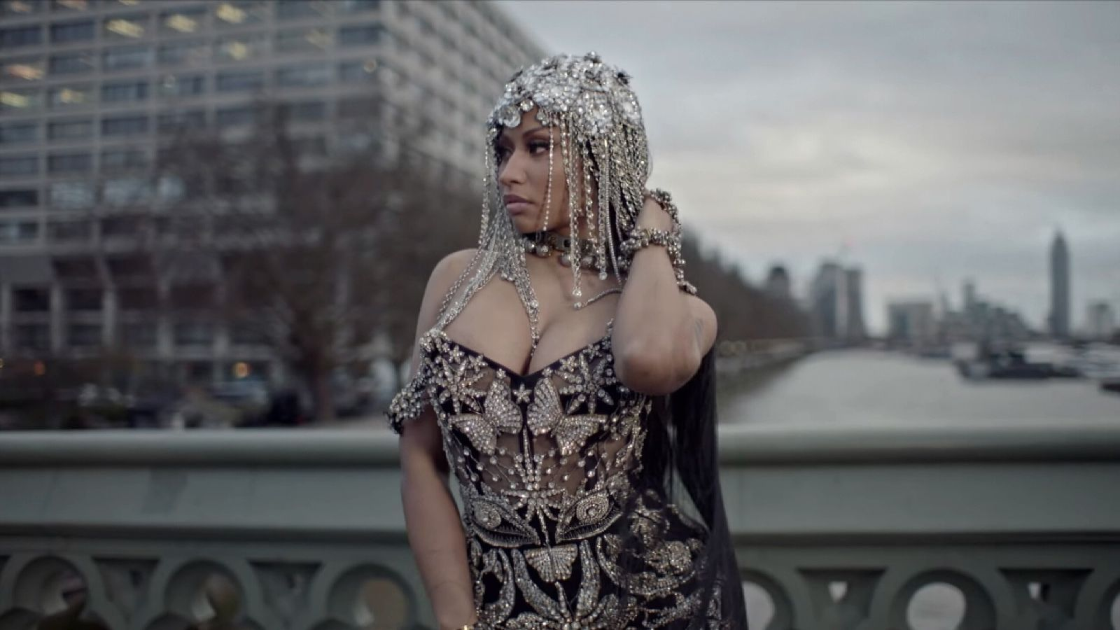 Nicki Minaj slammed for Westminster scenes in new video
