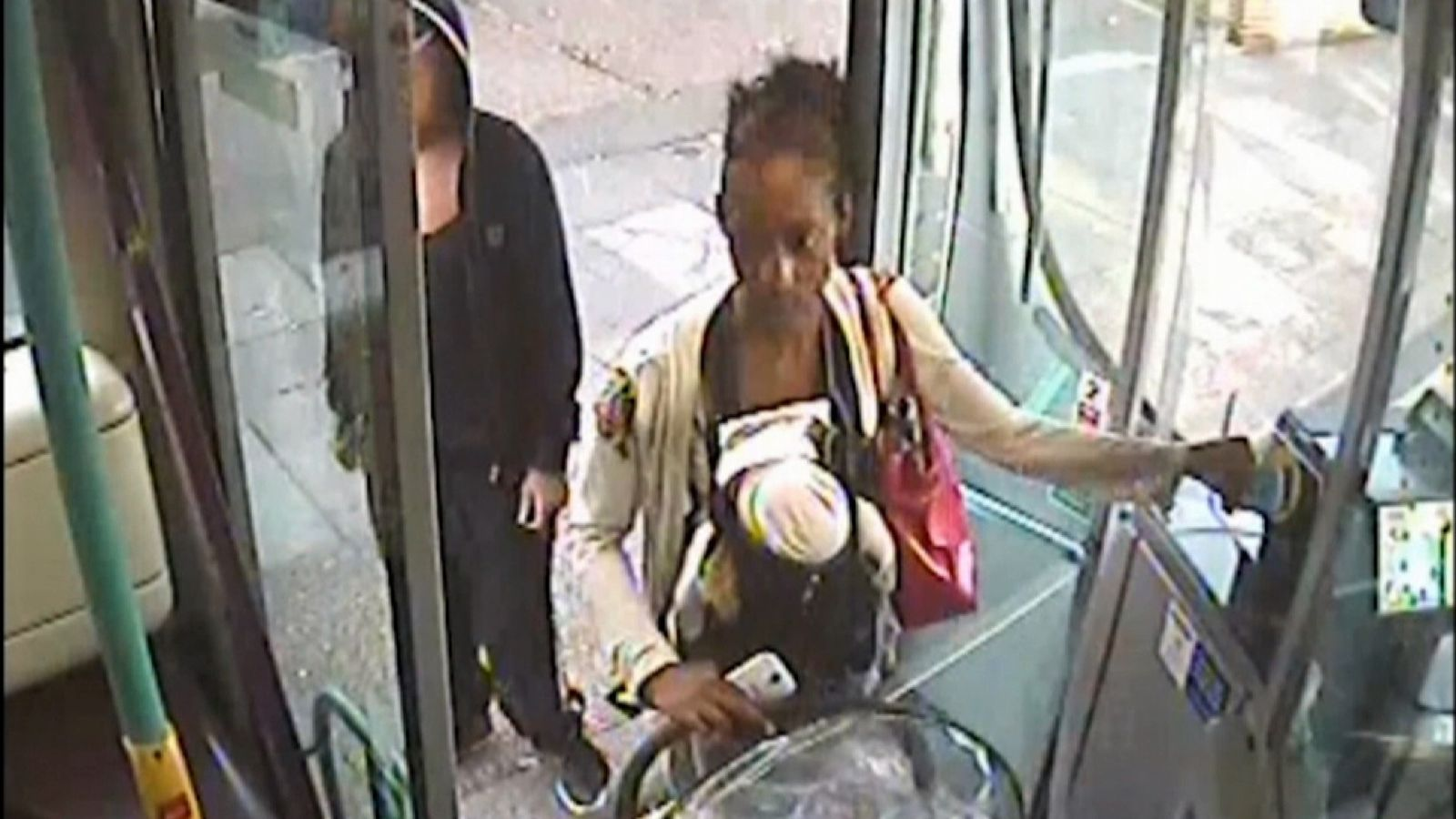 Woman stages baby's death on a bus