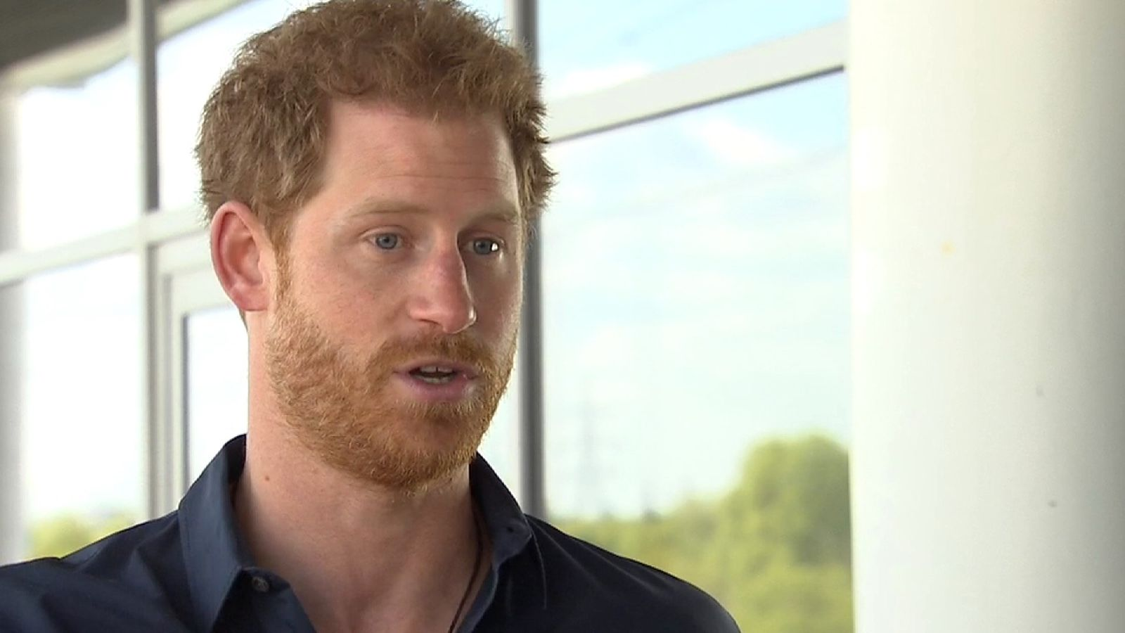 Prince Harry speaks to Sky News about mental health provison