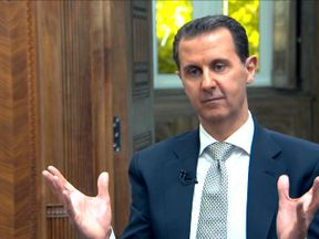 Syrian President Bashar al Assad interview by AFP