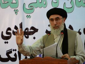 Gulbuddin Hekmatyar has signed a peace deal with the Afghan government
