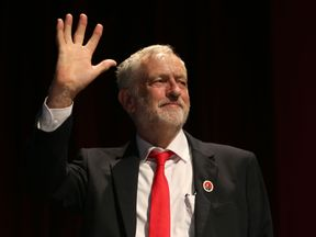 Labour leader Jeremy Corbyn takes his case to Scotland to try to win back voters