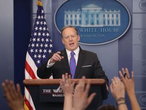 White House spokesman Sean Spicer under fire for Hitler comments