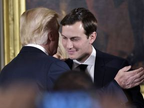 Jared Kushner has the ear of Donald Trump