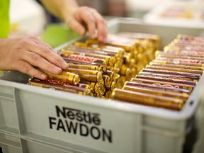 The Fawdon plant's products include Rolo, Toffee Crisp and Blue Riband