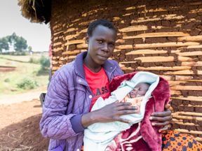 It estimated that 12,000 Kenyan babies have been protected by the chlorhexidine gel