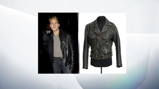 Leather jacket worn by Patrick Swayze in 1987's Dirty Dancing