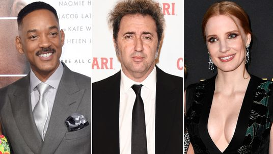 Will Smith, Paolo Sorrentino and Jessica Chastain