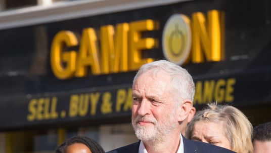 Jeremy Corbyn began the campaigning on Wednesday afternoon in Croydon
