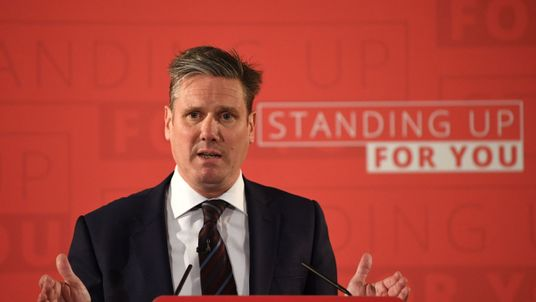 Shadow Brexit secretary Sir Keir Starmer outlines Labour's approach to Brexit