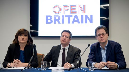 Nicky Morgan has quit the Open Britain group
