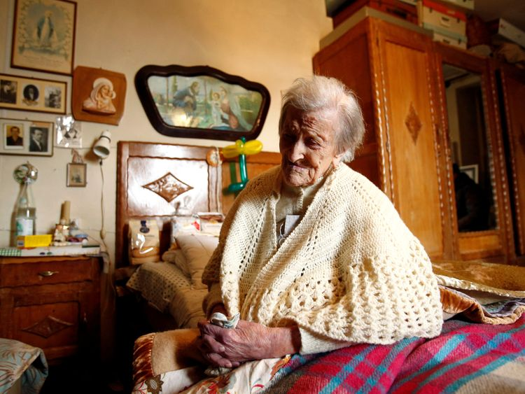 Emma Morano was the world's oldest person and the last to be born in the 1800s