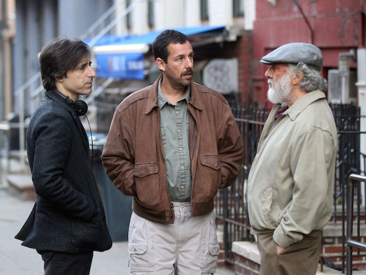 Adam Sandler in Baumbach's The Meyerowitz Stories to open In Competition