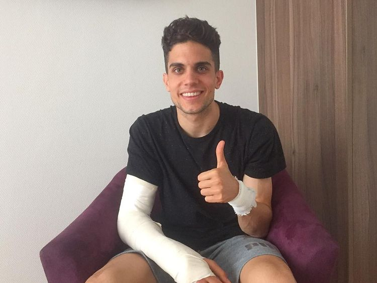Marc Bartra says he is 'doing much better'. Pic: Instagram/marcbartra