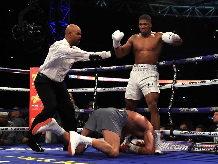 Joshua beats Klitschko in Wembley thriller