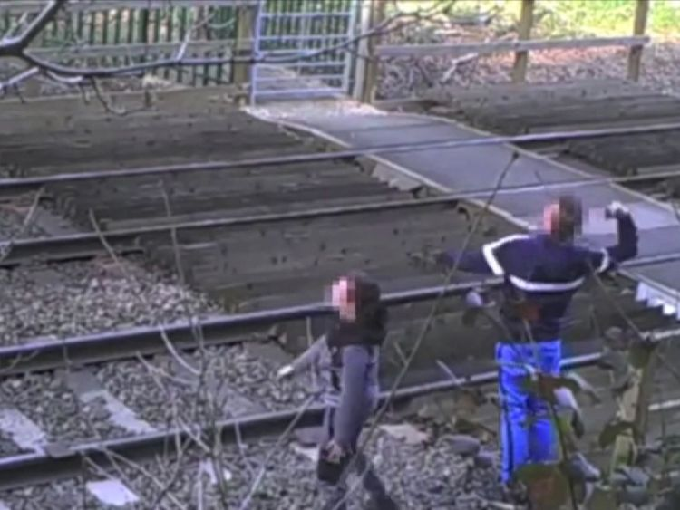 Number of trespassers on railways highest since 2007