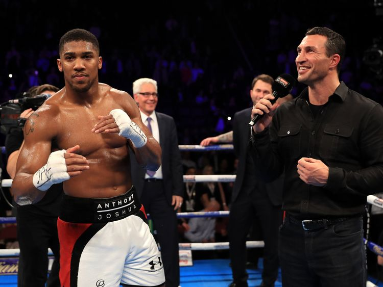 Vitali Klitschko: 'Anthony Joshua can not defeat best Wladimir Klitschko'