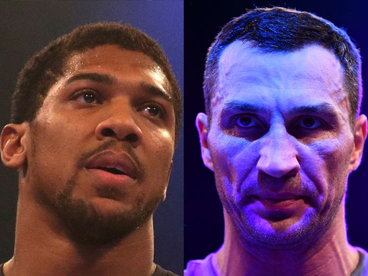 Joshua shrugs off Klitschko mind games