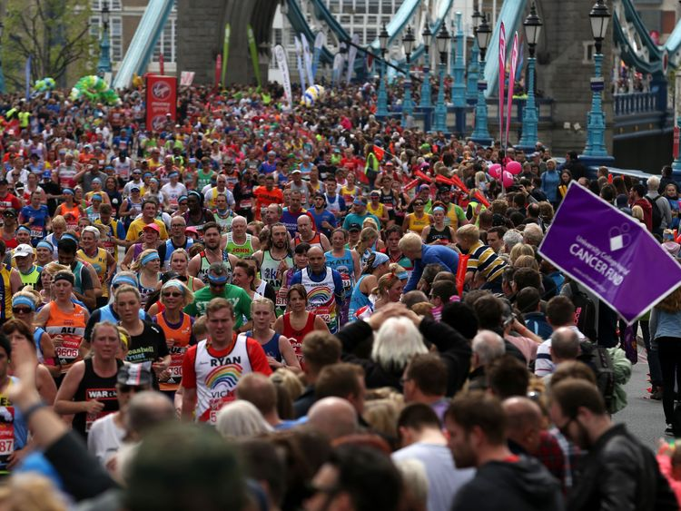 London Marathon poised to be 'biggest ever'