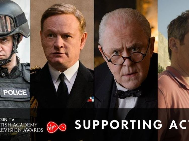 Jared Harris and John Lithgow are nominated for best ancillary actor