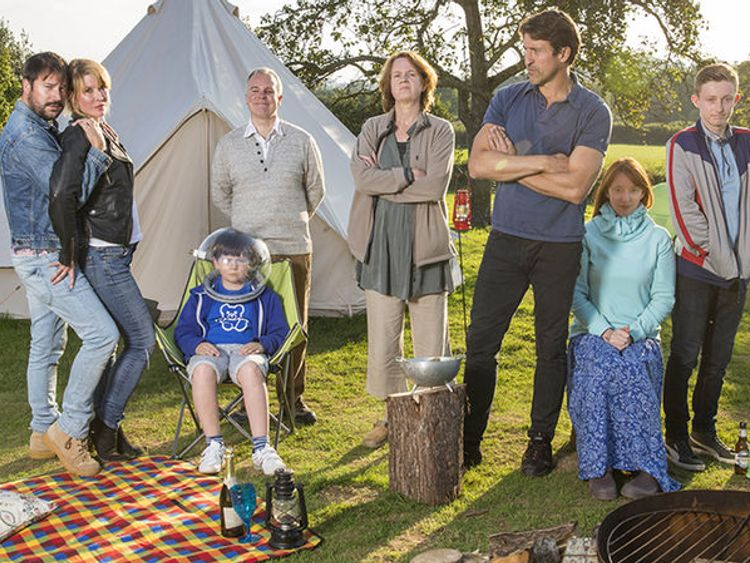 Sky Atlantics Camping is nominated for best scripted comedy
