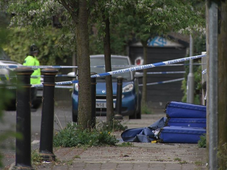 Car theft murder victim's wife 'screamed for help'