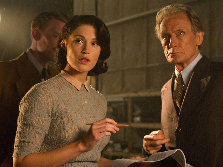 Arterton stars alongside Bill Nighy in the World War II drama