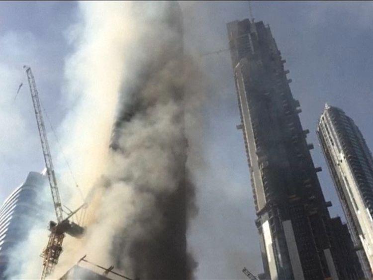 Dubai fire