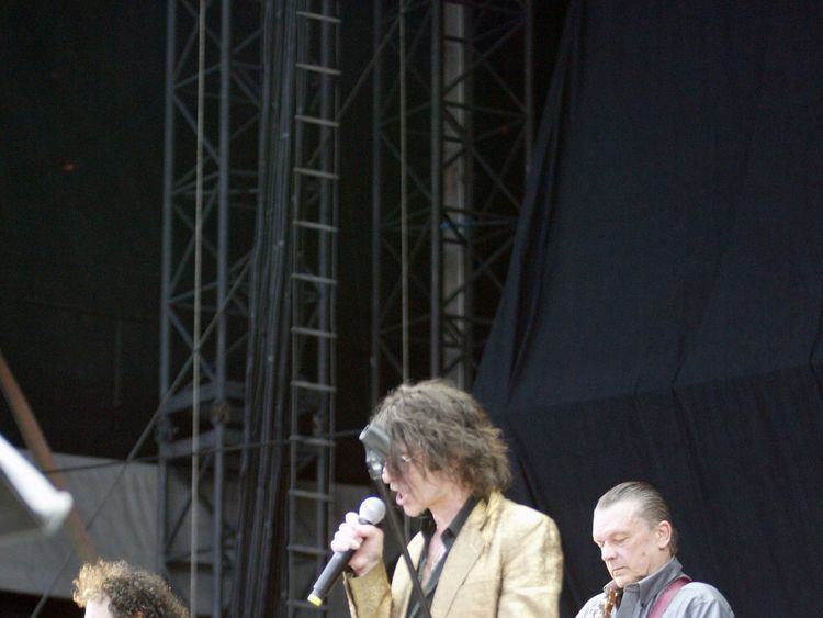 Geils with Magic Dick and Peter Wolf of The J Geils Band