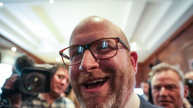 Paul Nuttall is standing for election in Boston and Skegness