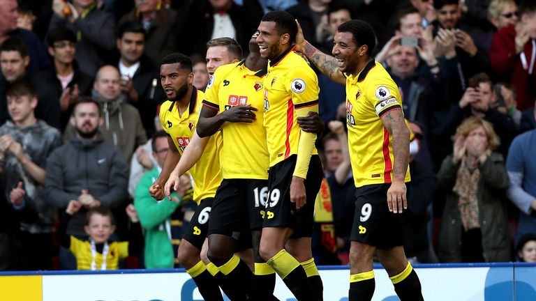 Highlights from Watford's 1-0 victory over Swansea