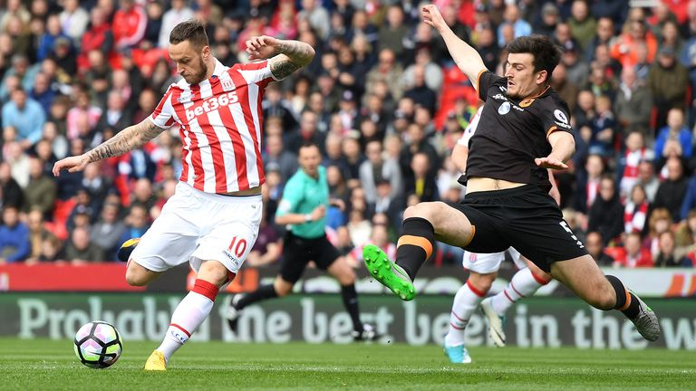 Johnson made his 50th league and cup appearance for the Potters in Saturday's 3-1 home win over Hull City
