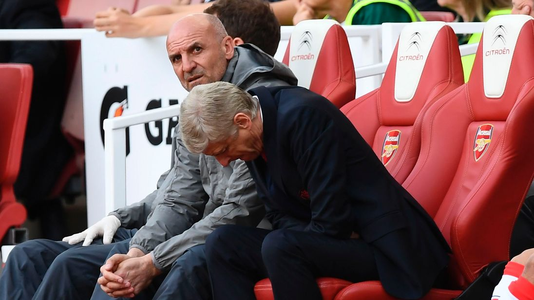 Wenger admits talk on future played part in missing Champions League