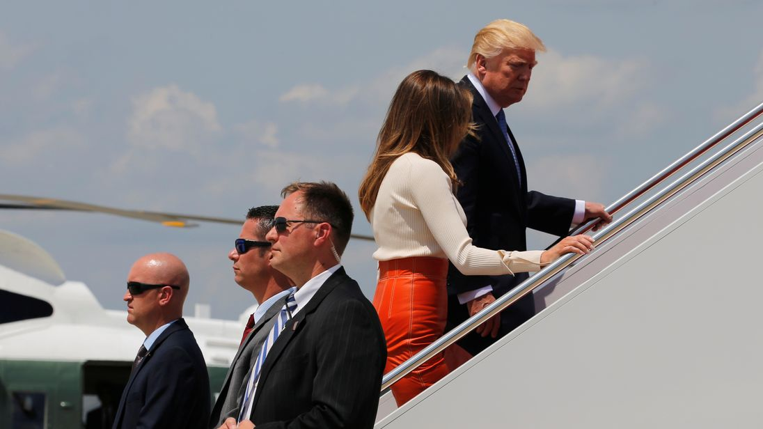 Trump's first foreign trip: Scheduled stops in Saudi Arabia, Israel and beyond