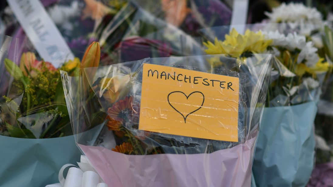 Mourners at Manchester vigil in St Ann's Square