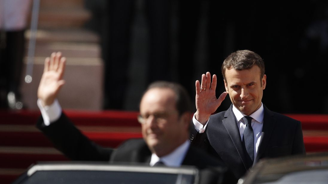 Francois Illas New Tradition: Emmanuel Macron Says World Needs 'a Strong France' As He
