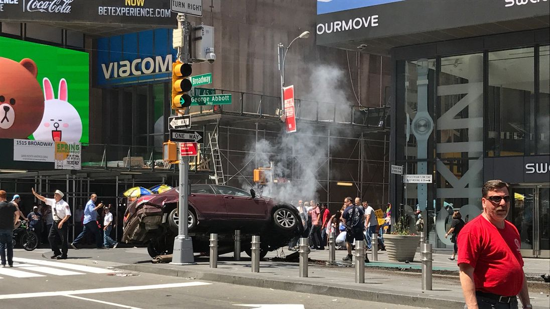 Motorist who mowed down Times Square pedestrians to face murder charges