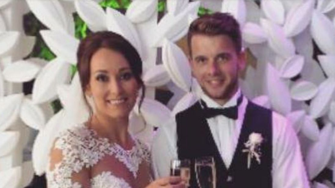 Husband pays tribute to 'beautiful' balcony plunge victim Kirsty Maxwell