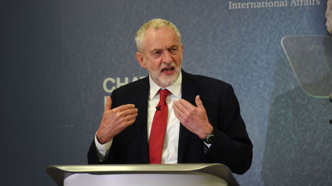 Jeremy Corbyn brands War on Terror a failure