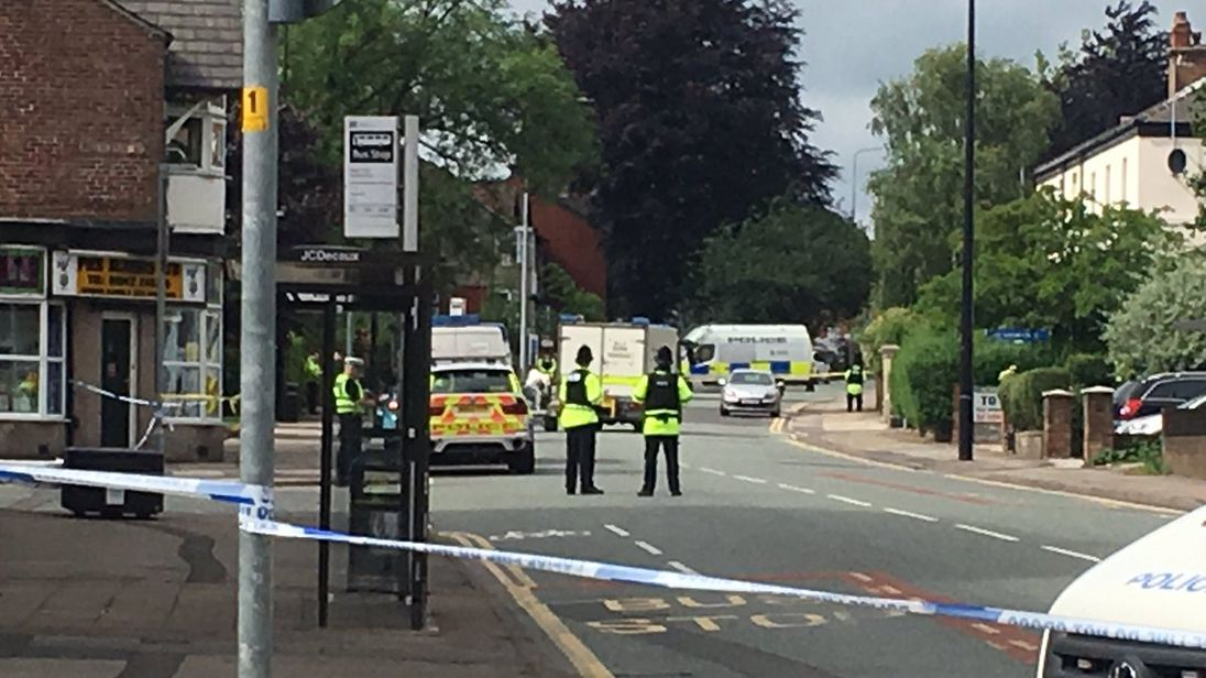 Army bomb disposal unit deployed in Wigan again