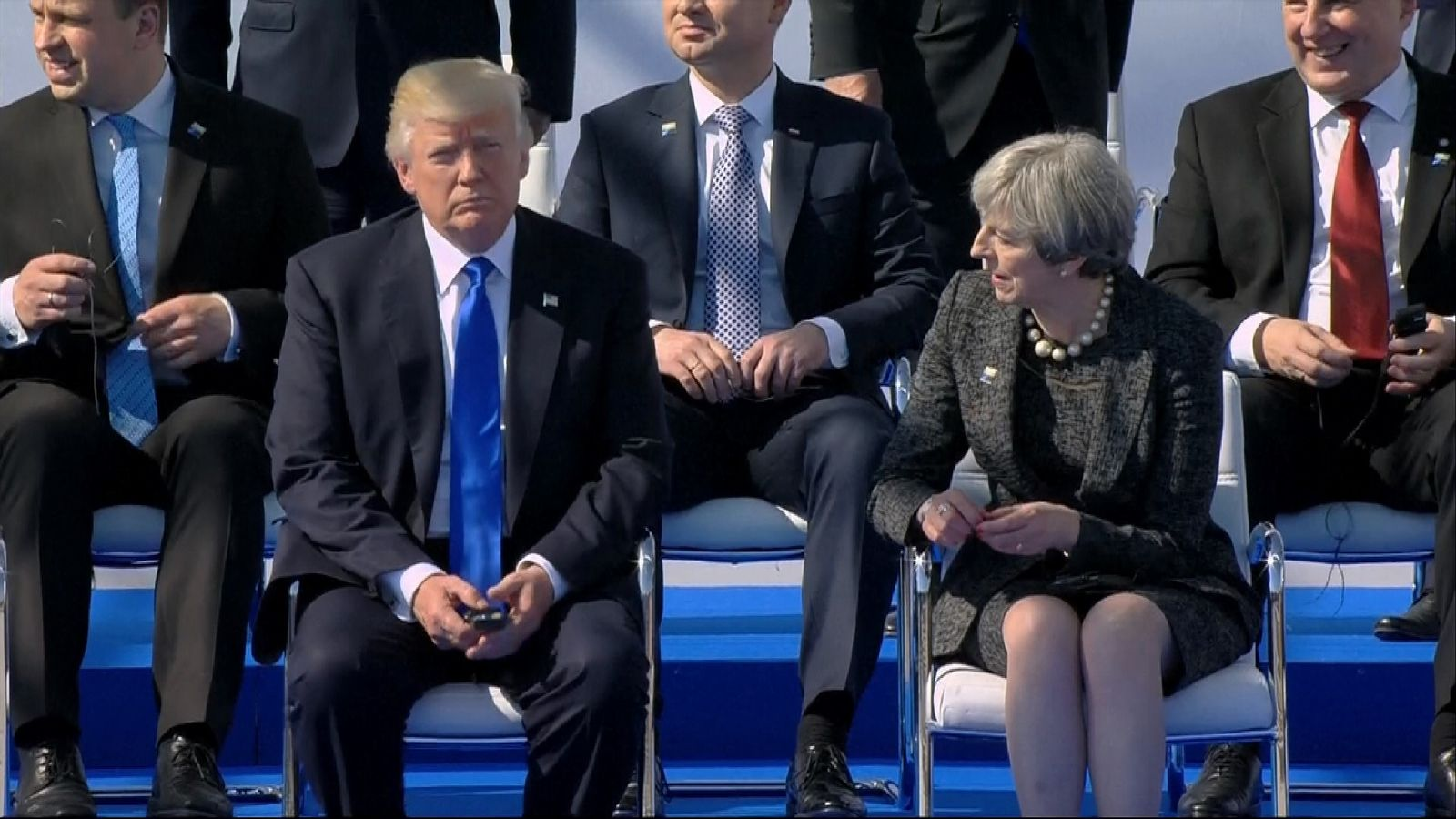 May to tell Trump intelligence 'must remain secure'