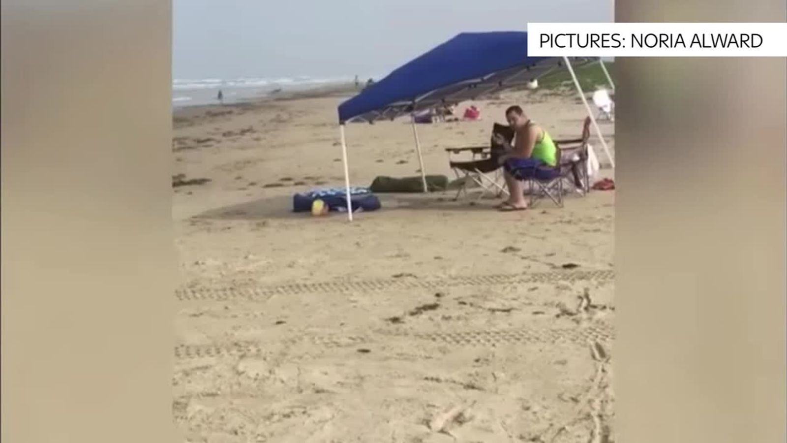 Man arrested for racist rant on beach