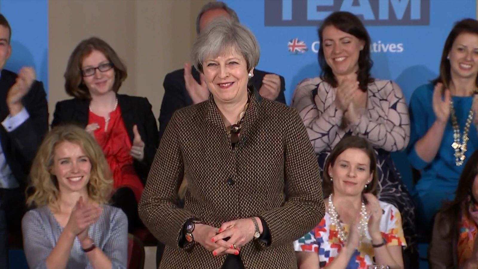 The Prime Minister has confirmed she will be sticking to the Conservative target to reduce net migration to under 100,000 - that's despite not hitting it for seven years.