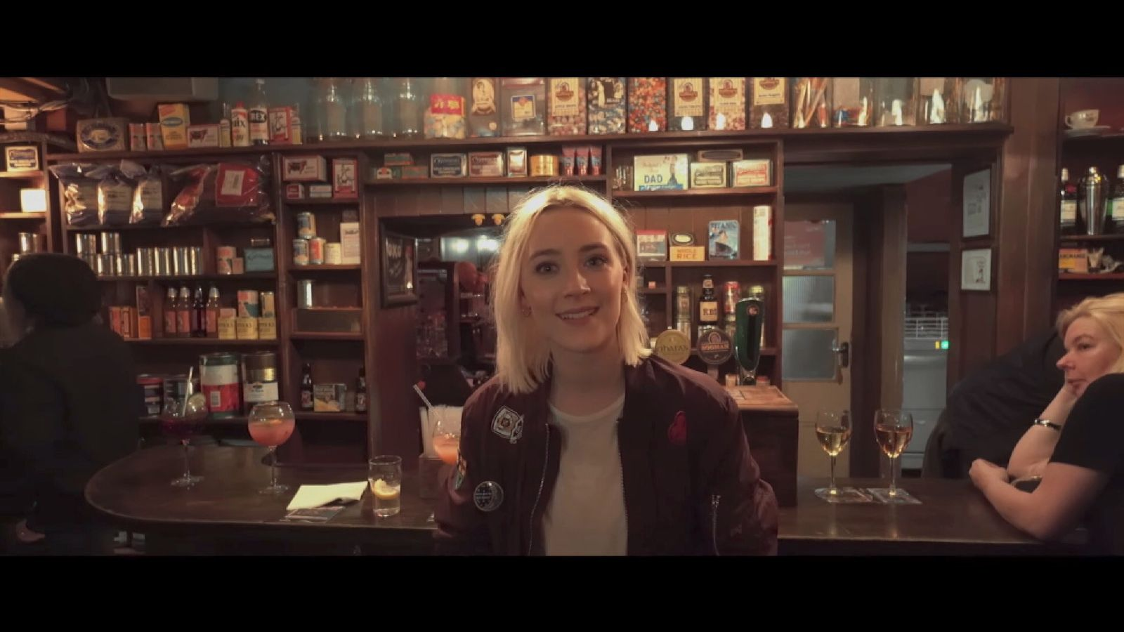 Track His Phone >> Saoirse Ronan is Sheeran's Galway Girl
