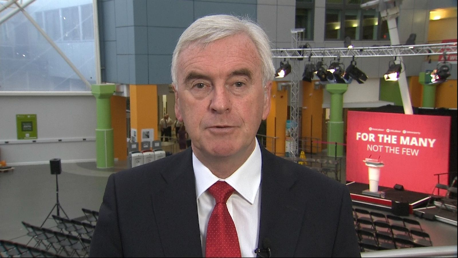 Shadow Chancellor John McDonnell talks about the pledges Labour are making.
