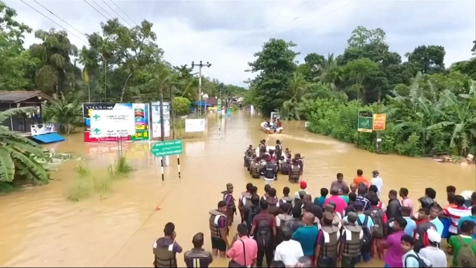 Sri Lanka's Death Toll Reaches 166 Following Monsoons