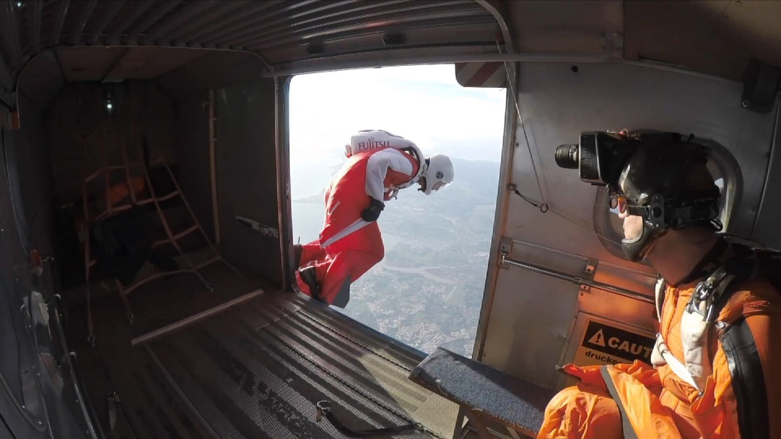 Fraser Corsan will freefall from above 40,000ft - higher than Everest