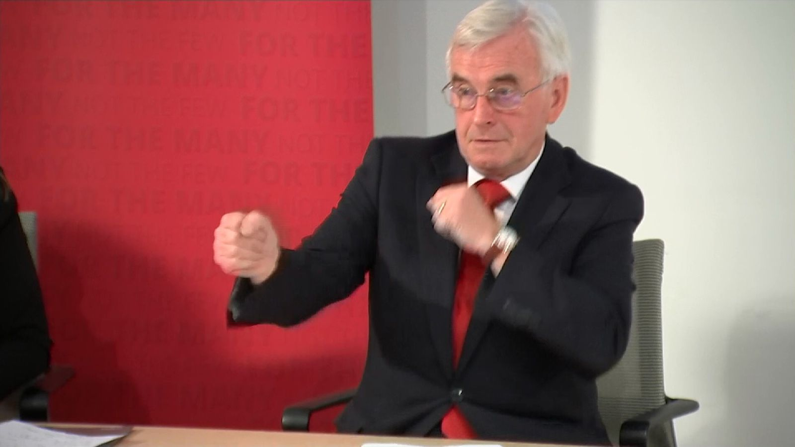 John McDonnell comes out fighting on the General Election campaign