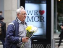 Floral tributes tare beginning to be left in memory of the victims
